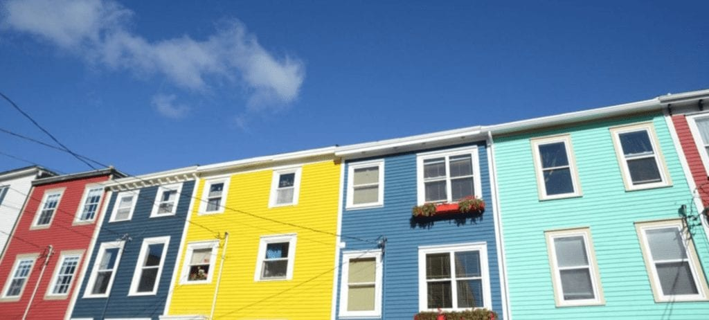 an excellent example of the colours of St. John's from Samantha Brown's Places to Love