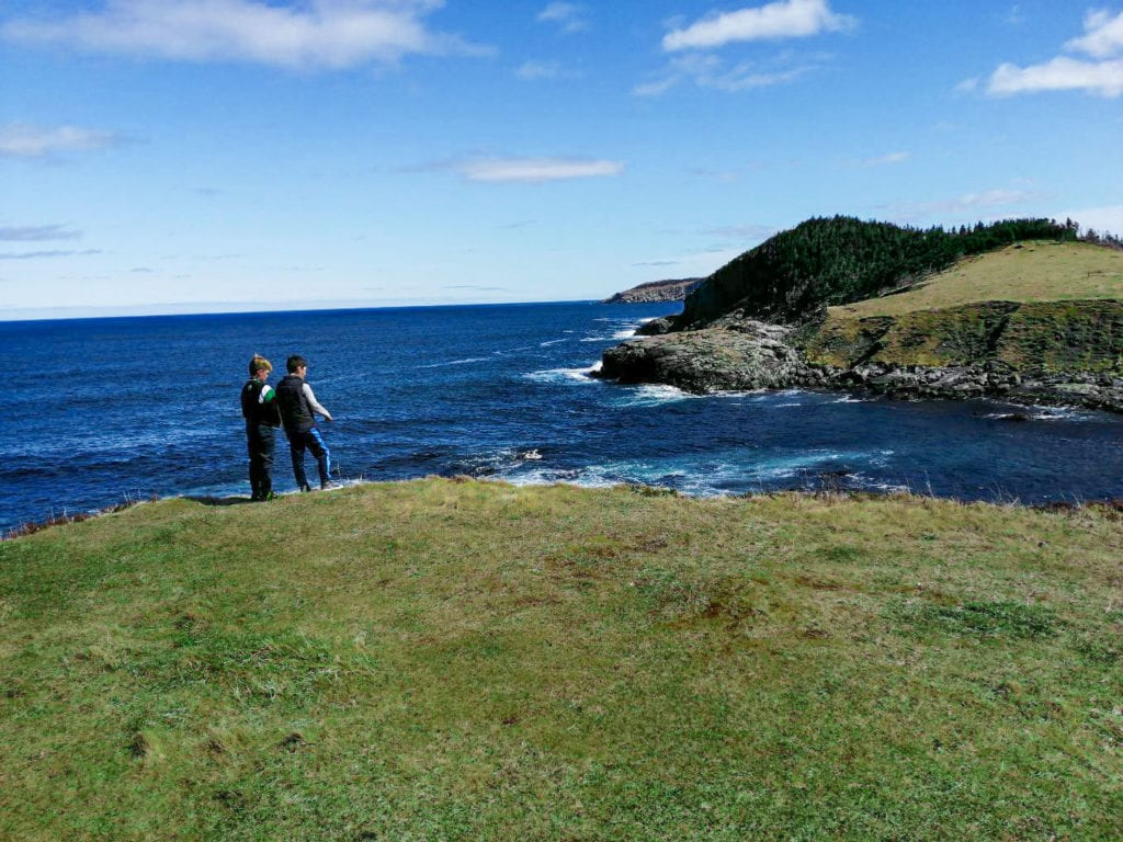 the prefect picnic location in Tors Cove