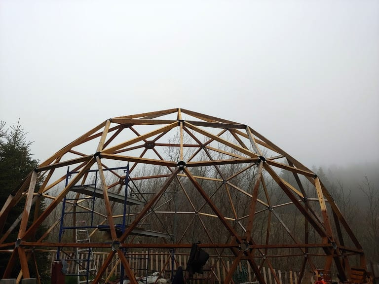 TORS COVE GEODESIC DOME