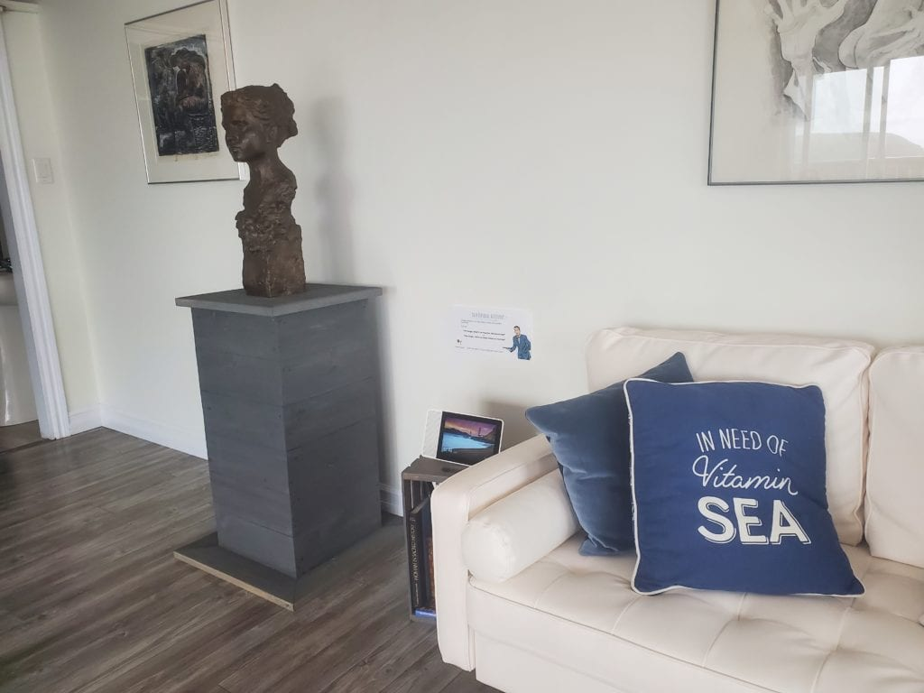 Blue Whale Suite, and a sample of of of the Fine Czeck Scuptures in our roating art